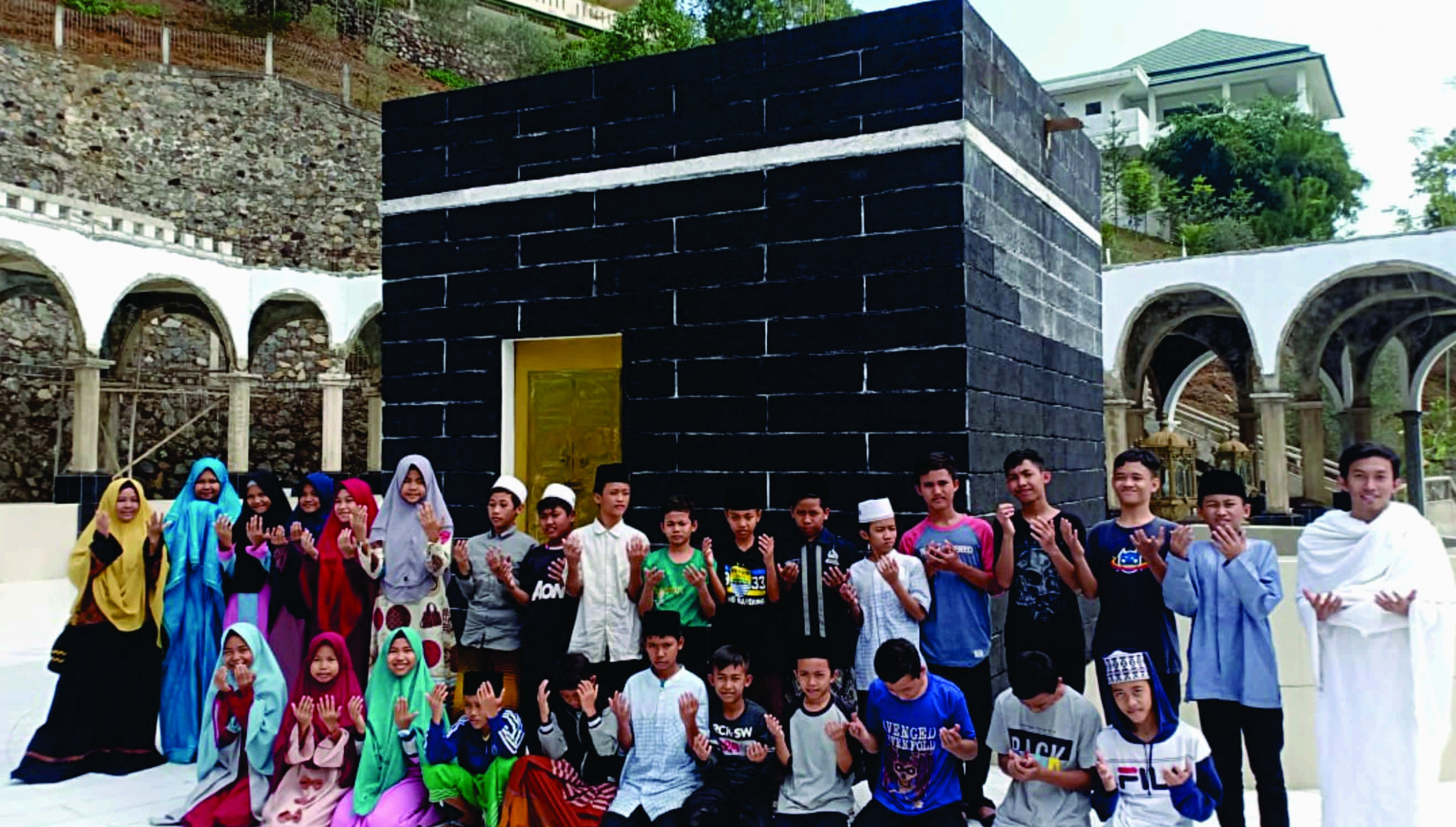 Manasik Haji SMPIT di Cinagara Bogor