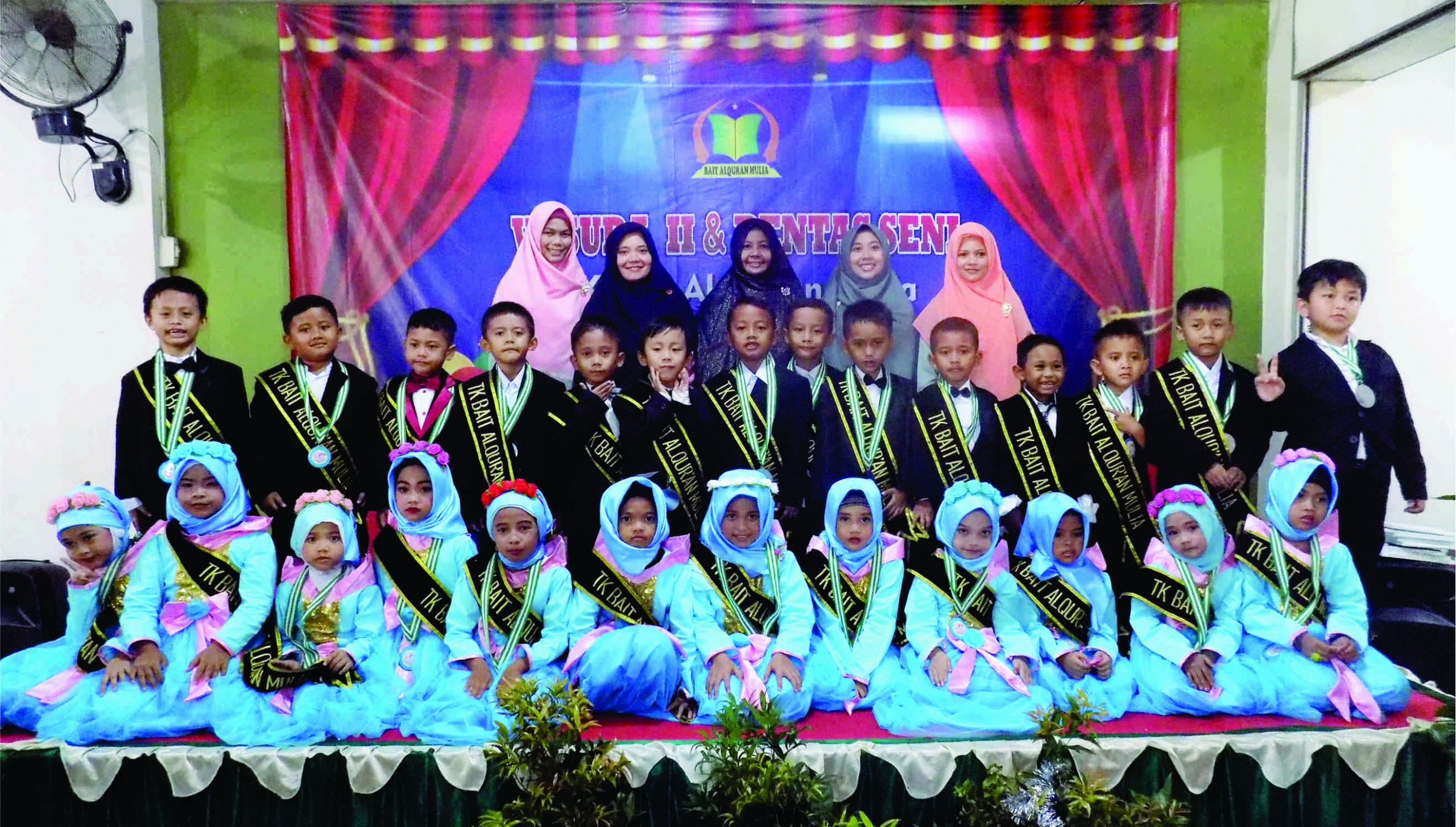 Alumni Pertama TKIT Bait Alquran Mulia